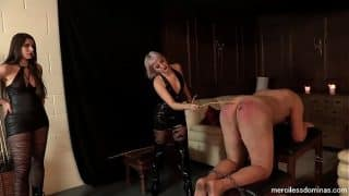 He won't Break Down – What will break first – cane or ass?